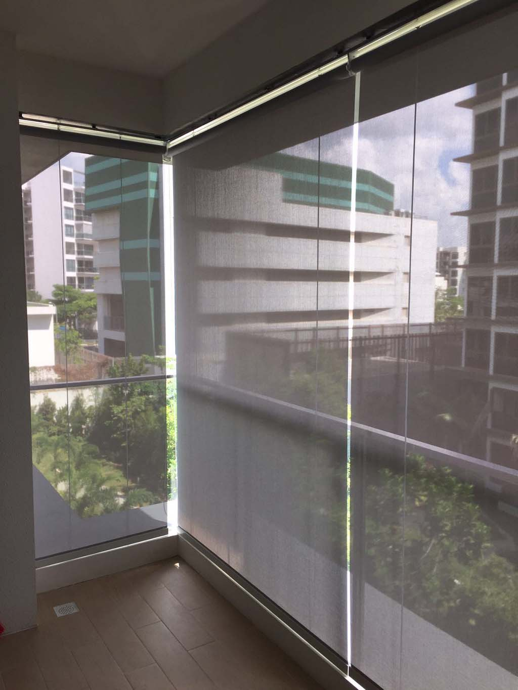 Outdoor Roller Blinds Shade Matters Outdoor Roller Shades